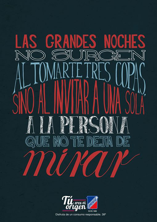 lettering_ron_brugal_las_grandes_noches